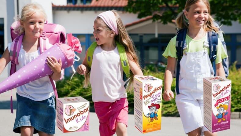 Кой продукт от Фамилия Имунобор е подходящ за първия учебен ден?
