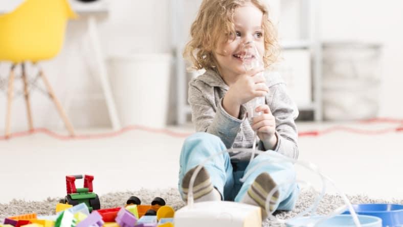 За бързо лечение на грип при деца с астма