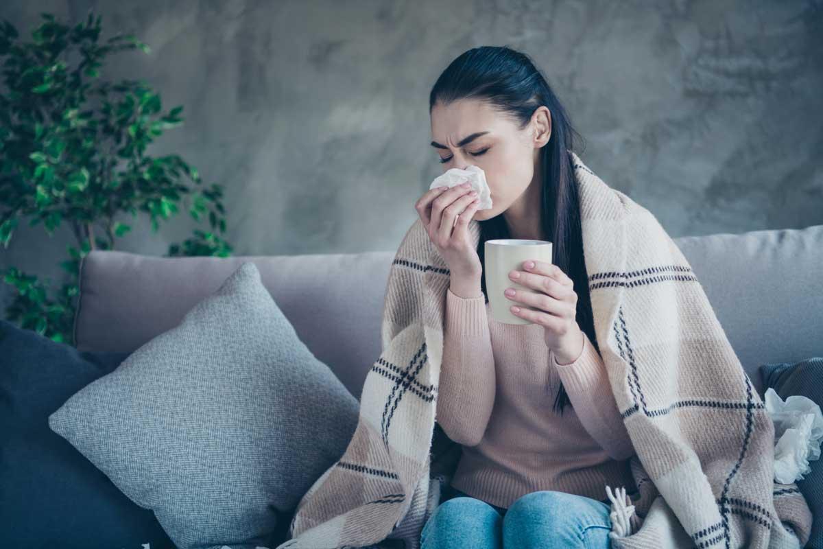 Методи за овладяване на грип при алергия от лекарства